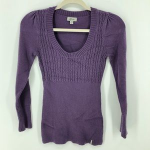 Guess vintage purple sweater